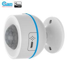 Neo coolcam z-onda pir sensor de movimento + detector de temperatura compatível zwave sistema 500 séries e 700 séries de automação residencial