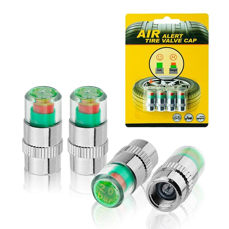 Caps On Nipple Pressure Indicator 2.4Bar 36PSI (4 Pcs) (NIP24Met, NIP24G, NIP24PL)