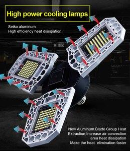 Super Bright LED Garage Light Industrial Lamp E27/E26 Waterproof IP68 Garage Lamp AC85-265V 60W 80W 100W Workshop Light