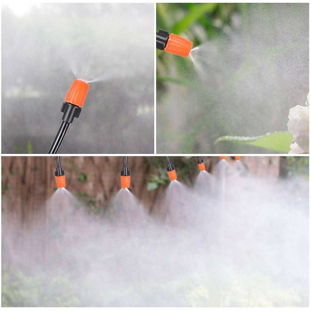 Капельное орошение 20 м DIY экономия воды автоматический микро сад теплица орошения спрей самополив наборы