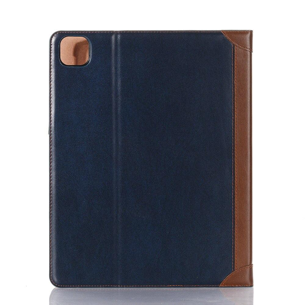 2 White PU Leather Case for iPad Pro 12 9 Case 2020 2018 Fold Book Smart Folio for