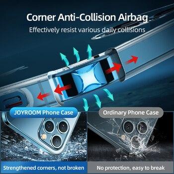 Стеклянный чехол Joyroom 9H для iPhone 11, 12 Pro Max 4