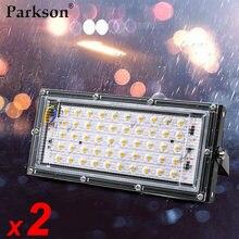 2 шт/лот Светодиодный прожектор 50 Вт Водонепроницаемый ip65
