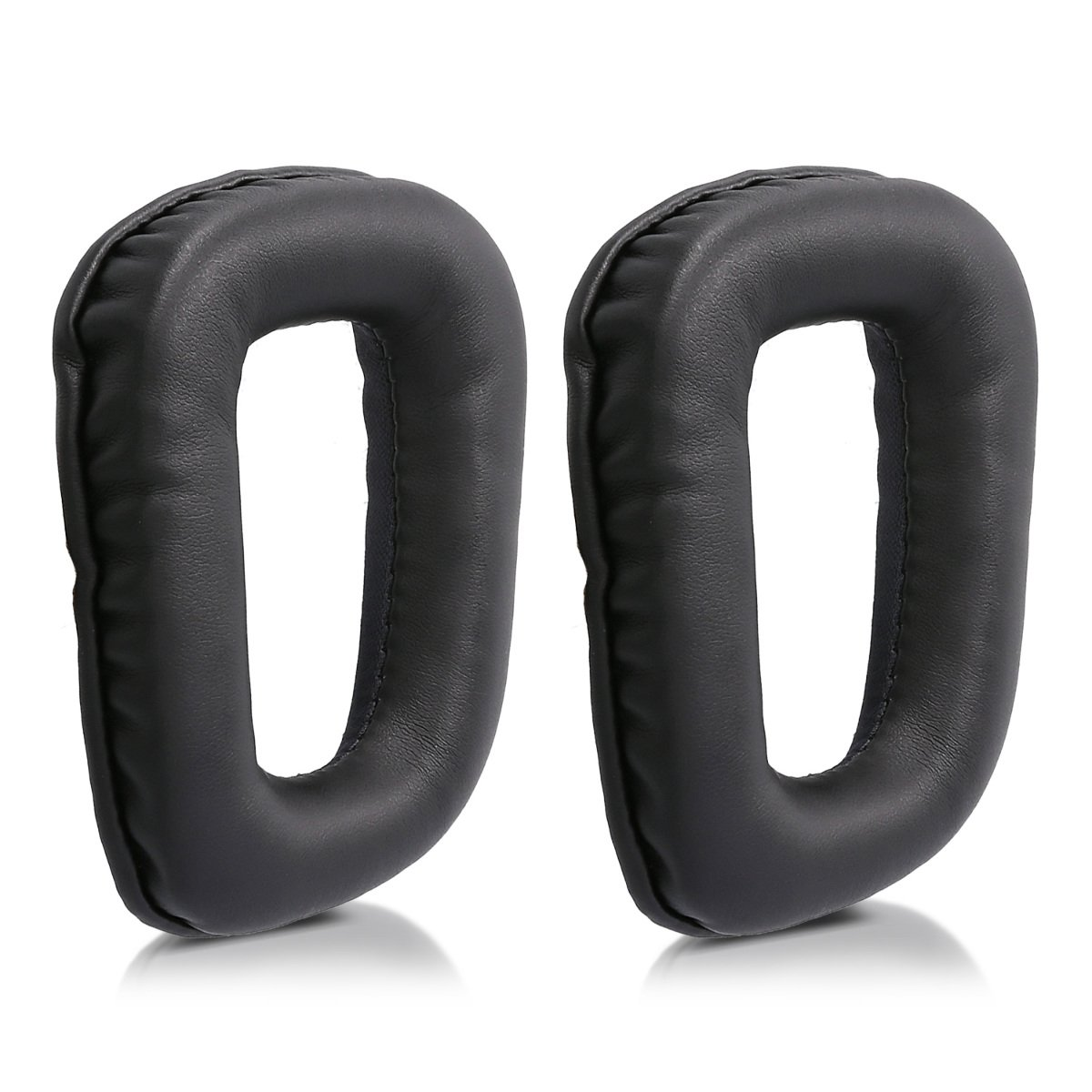 PU Leather Replacement Ear Pads Earpads For Logitech G430 G35 G930 F450 Headphones image