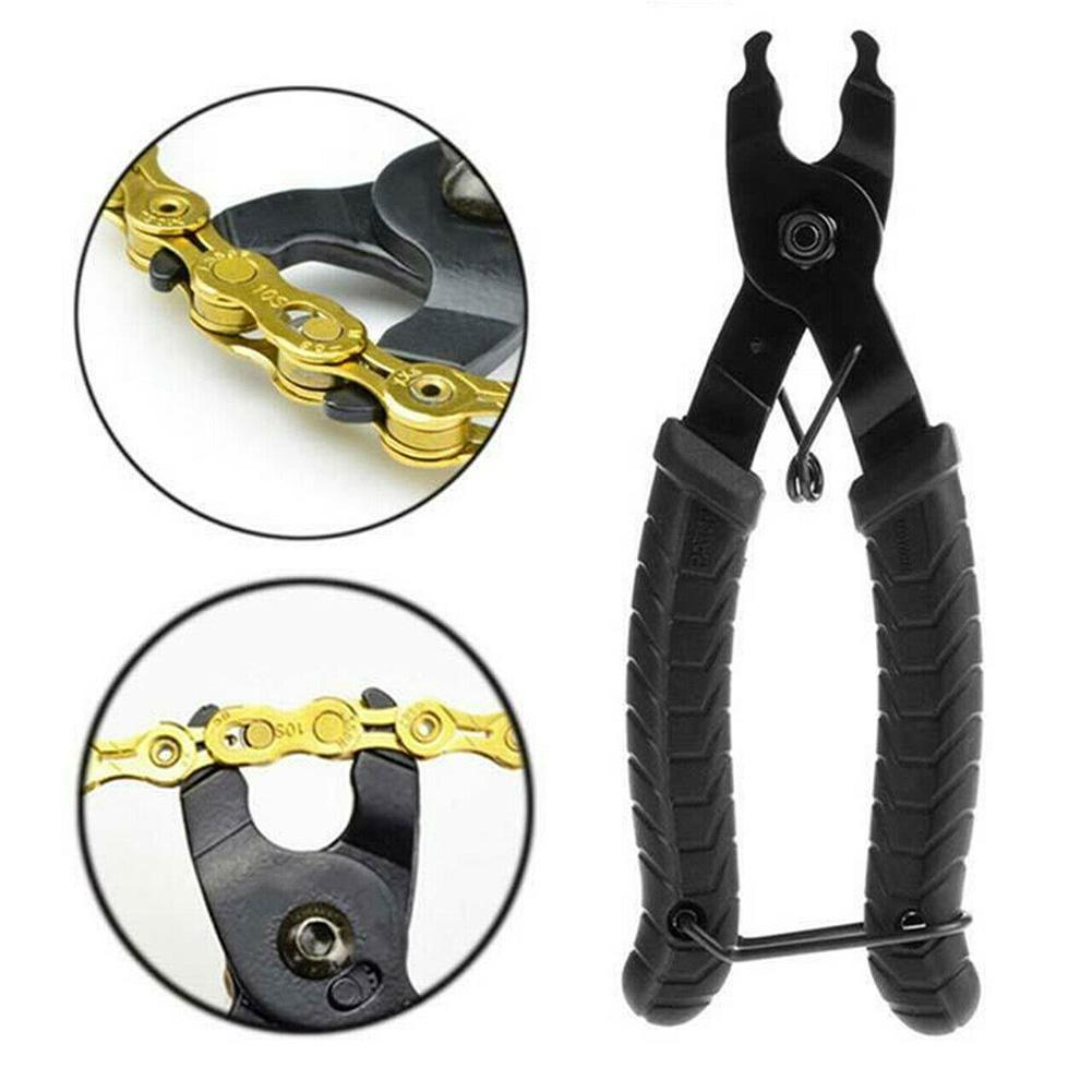 Mountain Bike Buckle Link Chain Pliers Quick Removal Install Clamp Repair Tool