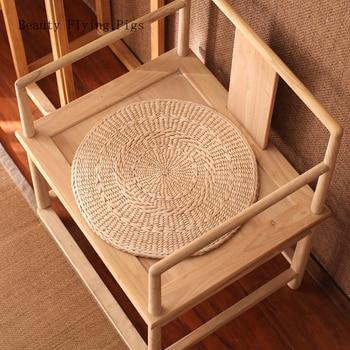 Direct selling new style rural style straw tatami futon cushion meditation worship Buddha floor mat chair floor grass mat