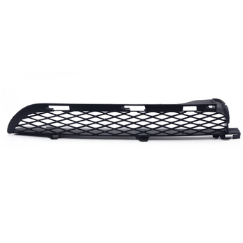 ABS Right Black Front Grilles Upper Bumper Mesh Grill Trim Moulding fit for BMW X5 E53 2004 2005 2006 image