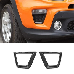 Włączony kierunkowskaz tapicerka do Jeep Renegade 2019 ABS włączony kierunkowskaz dekoracyjne wykończenie pokrywy akcesoria samochodowe w Listwy ozdobne od Samochody i motocykle na