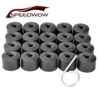 Speedwow 20 pçs 17mm porca da roda do carro auto hub parafuso capa de proteção tampas porca da roda parafuso cabeça tampa para vw golf mk4 passat audi|wheel nuts|bolt head cover|wheel nuts bolts -