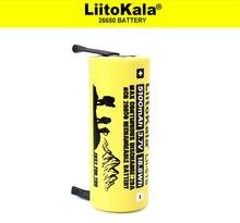 Liitokala Lii 51S 26650 5100MAh 3.7V Li ion Sạc 20A MAX Phóng Điện 3.7V Pin + DIY Niken tờ