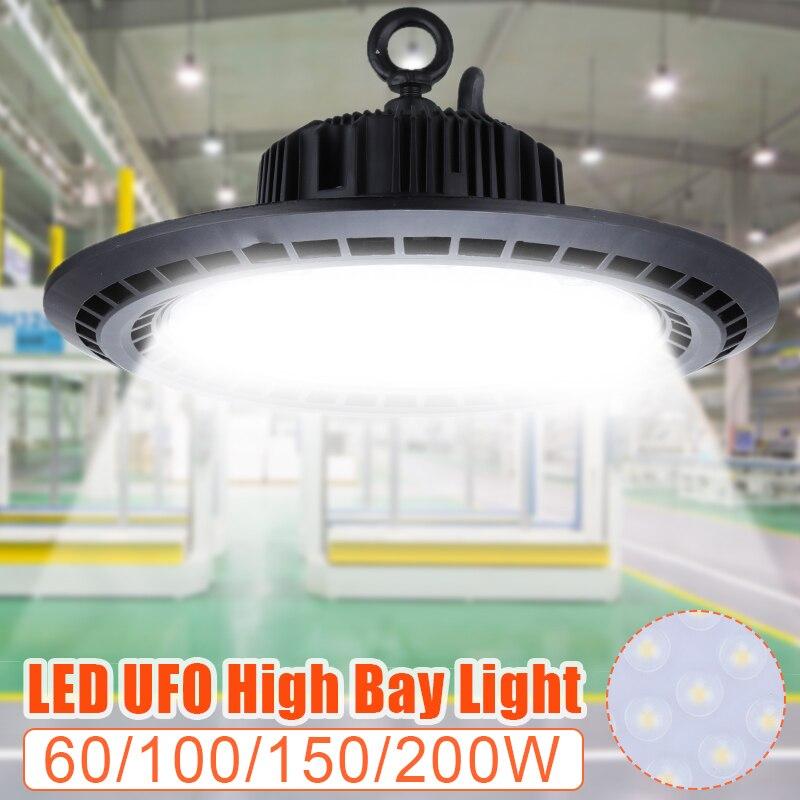 Светодиодные светильники 60 Вт/100 Вт/150 Вт/200 Вт Водонепроницаемый IP65 коммерческое освещение Промышленный Склад светодиодные лампы высокого залива