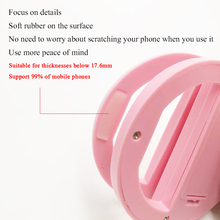 Litwod Z90S Selfie Ring Flash Led Fill Light Lamp Camera Photography Video Spotlight for iphone X 8 7 Samsung Huawei Phone