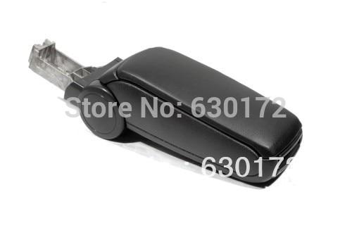 Center Console Armrest (Leatherette Black) For Audi A6 C5