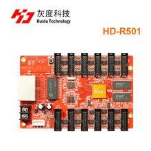 Huidu HD R501 asíncrono a todo color led tarjeta de recepción led controlador funciona con HD D30 para publicidad al aire libre led