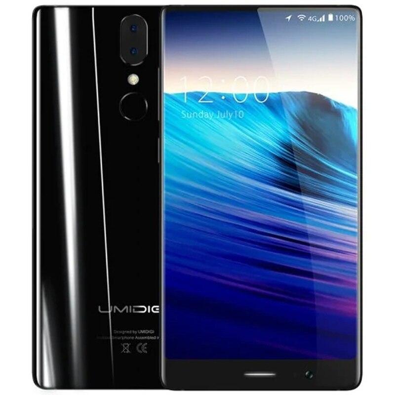 "UMIDIGI Crystal SmartPhone 4GB 64GB 5.5"" 4G LTE Telephone MT6750T Octa Core Android 7.0 3000MAH 13.0MP Fingerprint Mobile Phone"