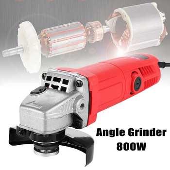 цена на 800W 220V 100mm Portable Electric Angle Grinder Muti-Function Household Polish Machine Grinding Cutting Polishing Machine
