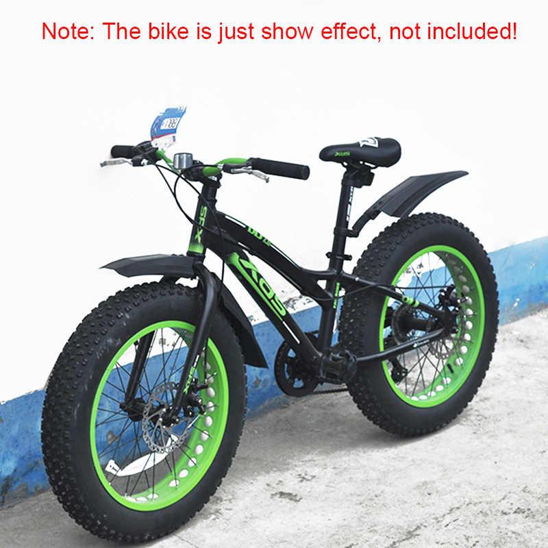20 אינץ 26 אינץ חשמלי מתקפל אופניים בוץ משמר שלג אופניים מגן בץ שומן אופני פגוש Fatbike MTB אופני רכיבה על אופניים פגושי חלקי