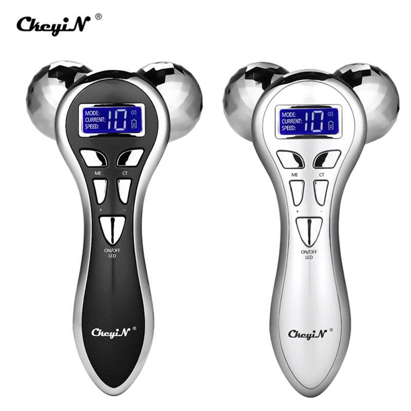 Mikroprądowy masażer wibracyjny 3D wałek do masażu twarzy Y kształt obrotowy V lifting twarzy masaż twarzy lifting twarzy ing Machine