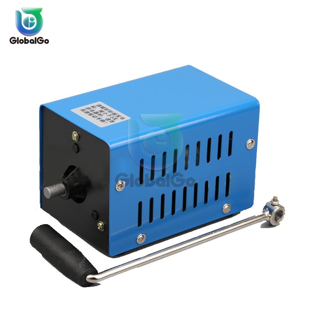 3 15 v diy emergencia manivela mao dynmotor carregador de alta potencia de carregamento usb manivela