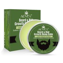 30g Aliver Beard Hair Growth Hemp Balm 100% Natural Products Promote Beard Growt