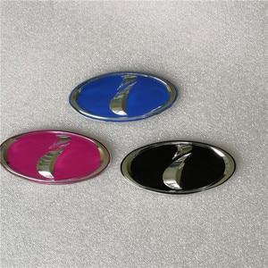 Subaru i Logo Car Front Bonnet Hood Badge JDM Emblem For Subaru Impreza WRX STI 2002-2005 (10.3 cm x 5cm)(China)