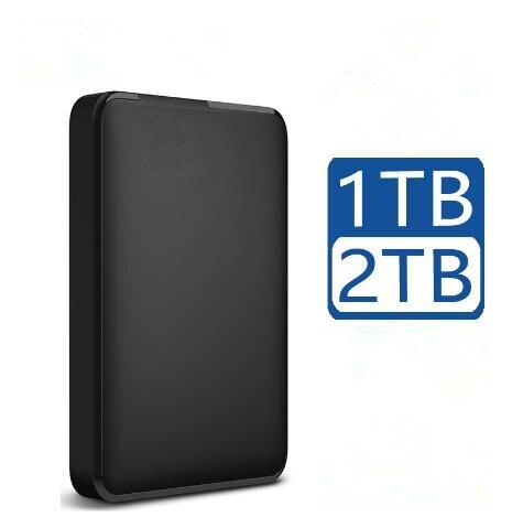 Портативный внешний жесткий диск HD 1 ТБ 2 ТБ высокой емкости SATA USB 3,0 устройство хранения ОРИГИНАЛ для ноутбука