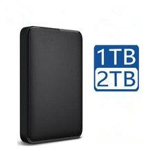 Disco rígido externo portátil hd 1tb 2 de alta capacidade sata usb 3.0 dispositivo de armazenamento original para computador portátil