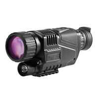 Digital Night Vision All Black And Red Outer Night Vision 5x40 HD Night Vision Infrared Non thermal Imaging Thermal Imager