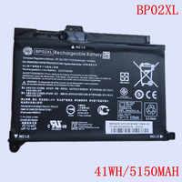 New Original Laptop Li-ion Battery BP02XL for HP 15-AU156TX 15-AU162TX series TPN-Q172 Q175 7.7V 41WH 5150MAH 2 cells