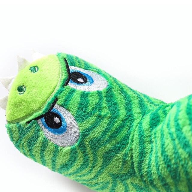 뜨거운 판매 아이 소녀 소년 층 슬리퍼 귀여운 동물 부드러운 따뜻한 플러시 안감 비 슬립 하우스 신발 겨울 부팅 양말 2-7 년 된