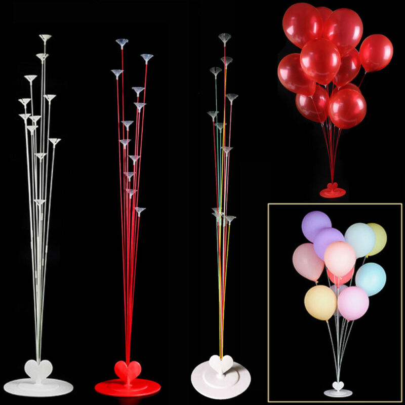 New Fashion Birthday Party adult Kids Birthday balloons Stand Table Floating Balloon <font><b>Support</b></font> Rack For Wedding Party Home Deco image