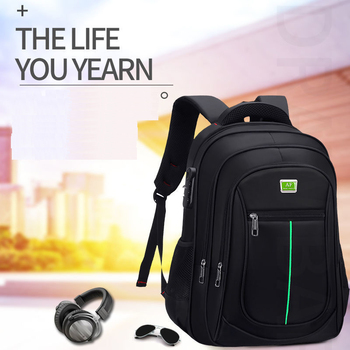 Anti-theft USB Charging Backpacks Men Notebook Computer Bags Large Capacity Teenagers High Quality Casual Travel School Backpack