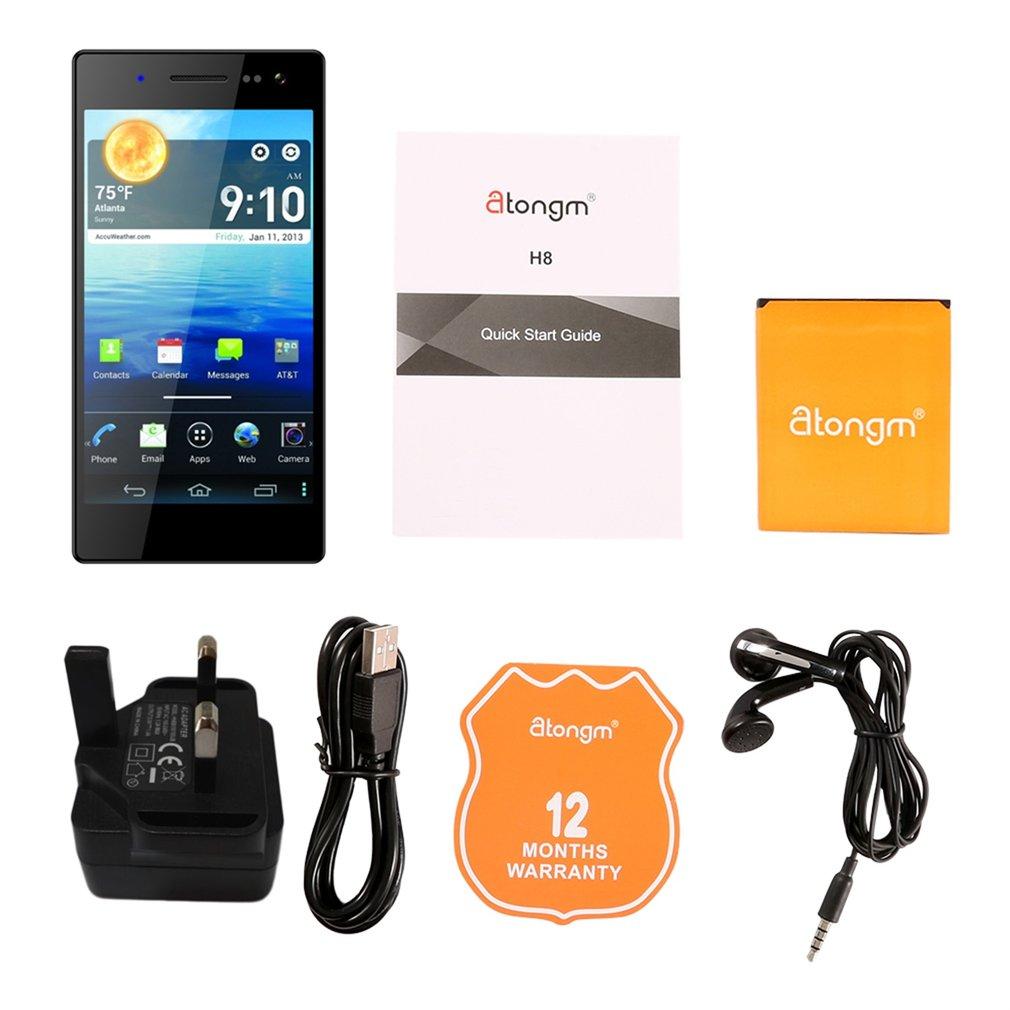 Atongm G501 5,0 дюймов 1080*1920 HD дисплей смартфон MTK6592 Восьмиядерный 2 + 16 Гб мобильный телефон для Android 4,4 UK Plug