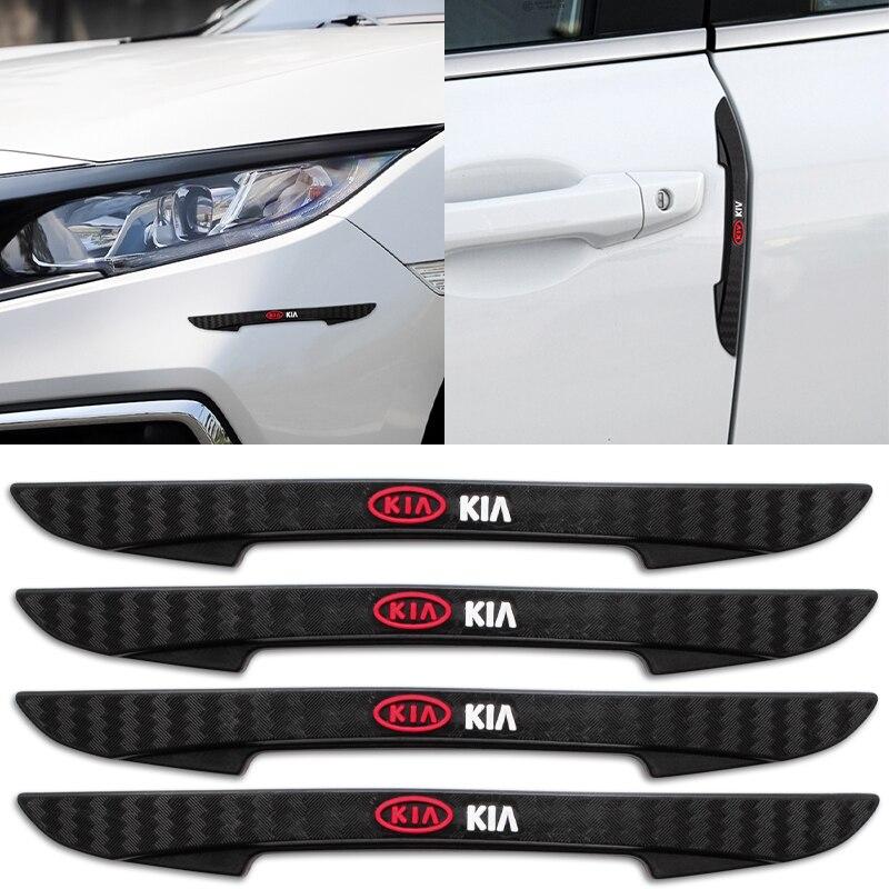Автомобильная наклейка для края двери бампера, полосы для защиты от ударов, боковой протектор для KIA Sid Rio Soul Sportage Ceed Sorento Cerato K2 K5