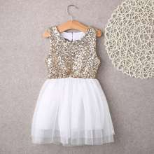 Girls Love Sequin Lace Dress Cotton Round Neck Princess Dress Round Neck Sleeveless Mesh Cute Girl Dress fashionable women s bowknot decorated sleeveless pink round neck dress