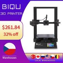 Biqu b1 impressora 3d 3.5 Polegada touch-screen 32bit placa-mãe de alta precisão retomar impressão de falha de energia 3d imprimants para mais recente
