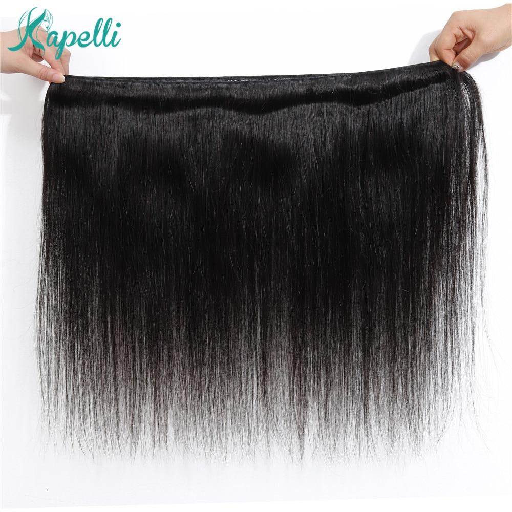 natural preto extensão do cabelo humano marrom