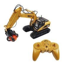 HUINA 1571 1:14 16CH Литой Сплав пульт дистанционного управления мяч-захват инженерный грузовик статическая модель обучающая игрушка подарок для мальчиков
