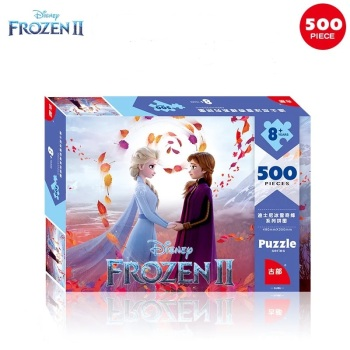 Disney Pixar Toy Story 4  Marvel Avengers Frozen 2 Spiderman Mickey Minnie Mouse 500 Pieces Puzzle toys for Children gift