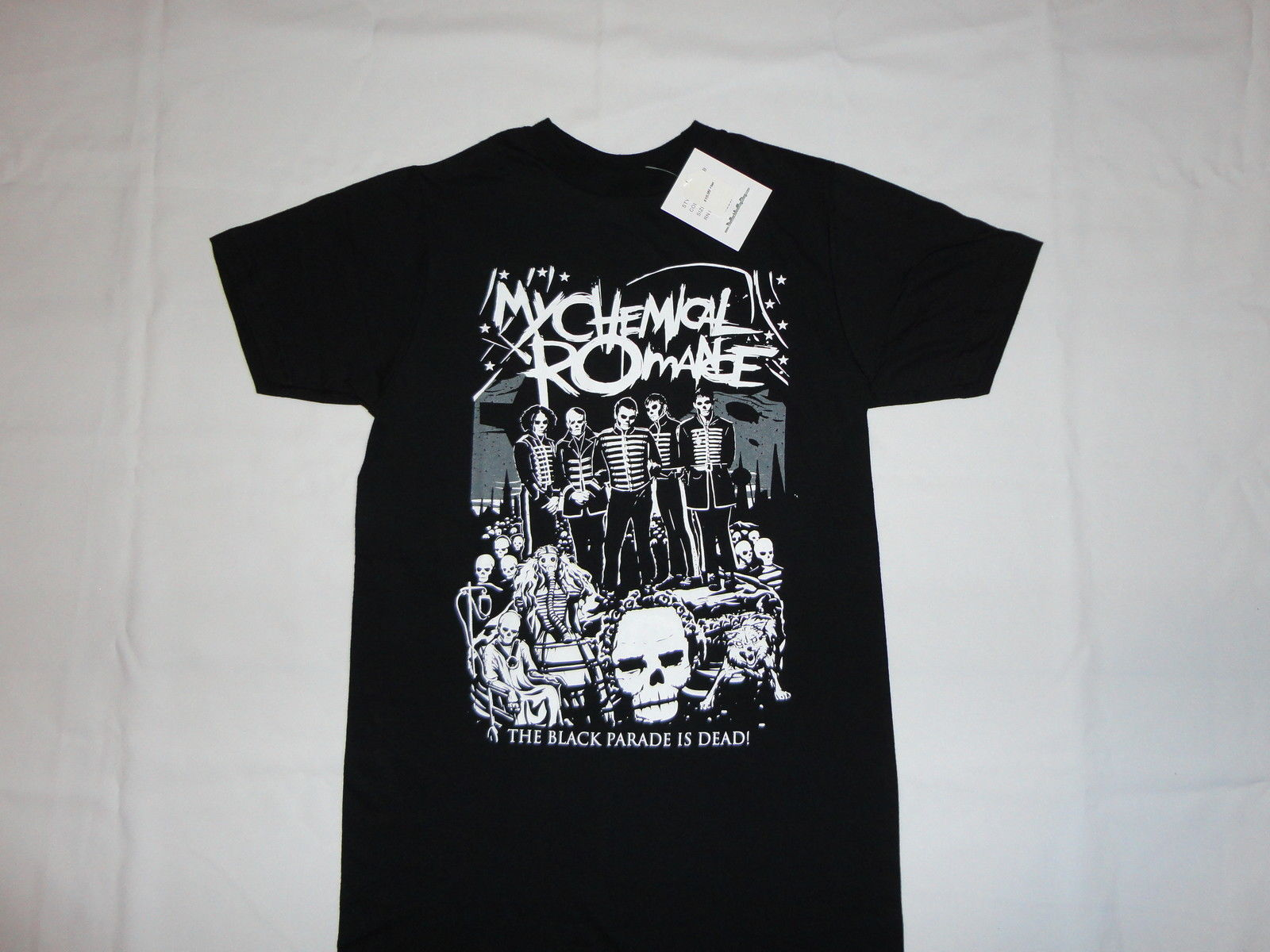 My Chemical Romance Mcr Dead New T Shirt S 3Xl Black Parade Punk Emo Rock Summer T Shirt New 2017 Summer Fashion Top Tee 011608