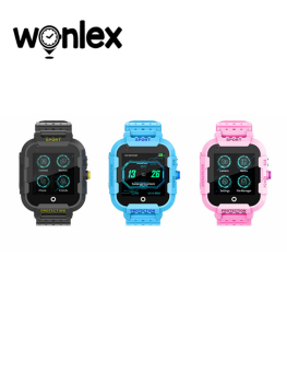 Wonlex Kids Smart Watch 4G GPS Smartwatch Wifi Tracker Touch Screen SOS Phone Video Call Waterproof Children Camera Watch KT12