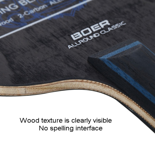 Table Tennis Racket Pimples-in Rubber 7 Baseboard Layers Wooden Bottom Ping-pong Bats Racquet Sports Accessories 2