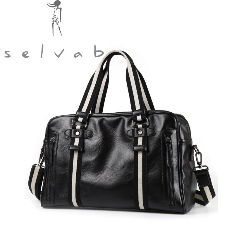 2019 New Casual Fitness Hot Men's Handbag Korean Luxury Fashion Short-distance Travel Slung Shoulder Bag PU Leather