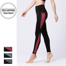 Women Yoga Leggings  Pants Sports Running Sportswear Stretchy Fitness Booty Tummy Control Gym Compression Tights