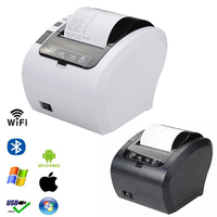 80mm Auto Cutter Thermal Receipt Printer POS printer with usb Ethernet bluetoot WIFI RS232 for Hotel/Kitchen/Restaurant