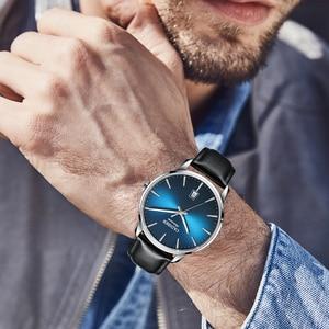 Image 4 - CADISEN2020 חדש למעלה גברים של אוטומטי מכאני שעון יוקרה מותג מכאני שעון צבאי עסקי פנאי עמיד למים גברי