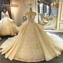 Amanda Novias brand wedding dress factory direct sale luxury wedding gown
