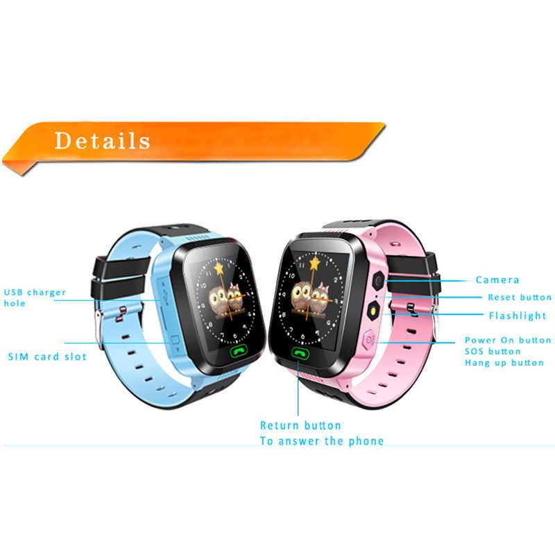 Q02 ילדי חכם שעון מצלמה תאורת מגע מסך SOS שיחת LBS מעקב מיקום Finder ילדים תינוק חכם שעון ילדים pk q529