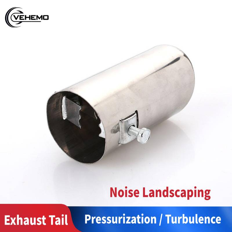 54mm OD to 34.93mm OD Stainless Standard Exhaust Reducer Connector Pipe Tube