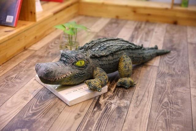 Naturalistic Crocodile Toys Stuffed Realistic Doll Soft Lifelike Plush Toys Stuffed Animals Hot Toys Gift for Children Boys